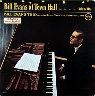 BILL EVANS AT TOWN HALL VOLUME ONE Us盤