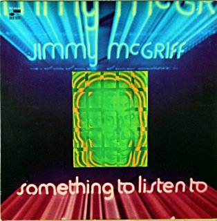 JIMMY McGRIFF SOMTHING TO LISTER TO Us盤