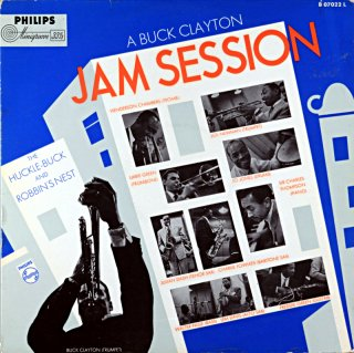 A BUCK CLAYTON JAM SESSION Holland盤