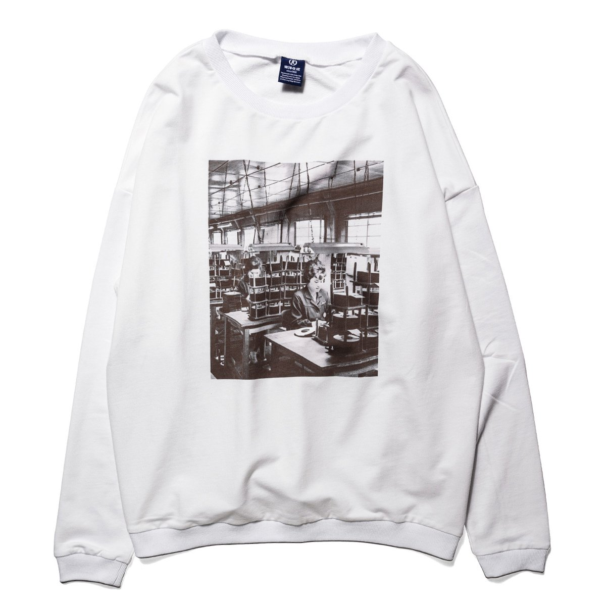 TOYOKASEI PHOTO LONG SLEEVE TEE [WHITE]