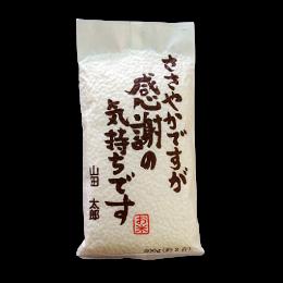 【2合・300g】感謝メッセージ付き真空パック米 千葉県産コシヒカリ