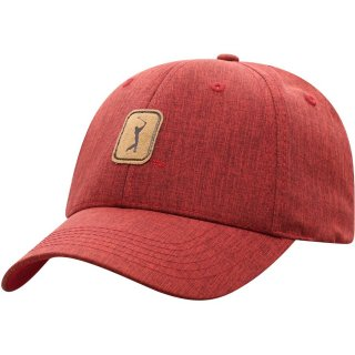 PGA TOUR Top of the World Adjustable キャップ - Heathered Red