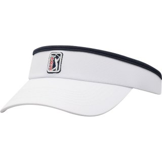 PGA Tour Top of the World Tall Tipped Clip バイザー - White