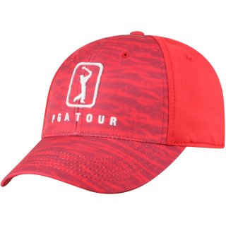 PGA Tour Top of the World One Fit Tech Flex キャップ - Red
