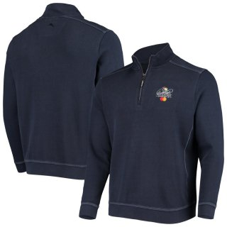 アーノルド パーマー Invitational Tommy Bahama Nassau Half-Zip Pullover スウェットシャツ - Navy