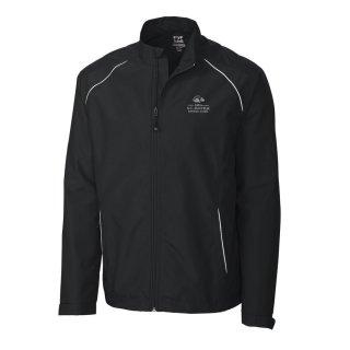 Men's 2020 USアマチュア Cutter & Buck Black WeatherTec Beacon Full-Zip ジャケット