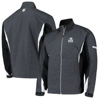 2020 PGAチャンピオンシップ FootJoy Hydrolite Full-Zip Rain ジャケット - Black