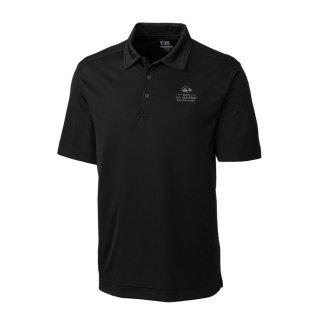 Men's 2020 USアマチュア Cutter & Buck Black DryTec Northgate ポロシャツ