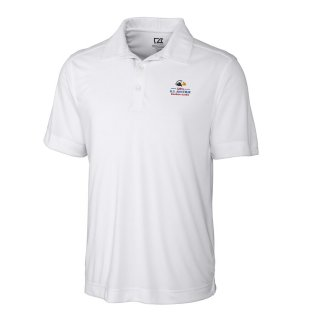 Men's 2020 USアマチュア Cutter & Buck White DryTec Northgate ポロシャツ