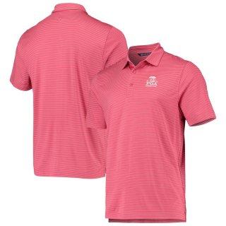 2020 PGAチャンピオンシップ Cutter & Buck Forge Pencil Stripe ポロシャツ - Pink
