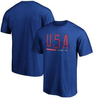 2019 プレジデンツカップ Fanatics Branded USA T-シャツ - Royal