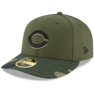 Cincinnati Olives New Era On Field Low Profile Home 59FIFTY キャップ