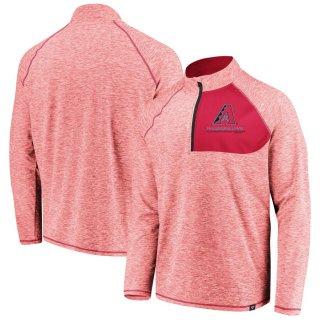アリゾナ・ダイヤモンドバックス Fanatics Branded Made 2 Move Quarter-Zip ジャケット - Red