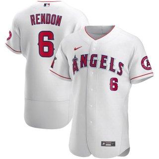 アンソニー・レンドン ロサンゼルス・エンゼルス Nike Authentic Player ユニフォーム - White