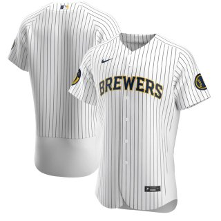 ミルウォーキー・ブルワーズ Nike Road Authentic Team ユニフォーム - White