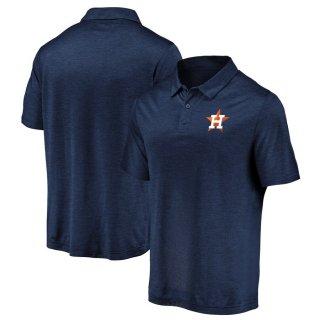 ヒューストン・アストロズ Fanatics Branded Iconic Striated Primary Logo ポロシャツ - Navy