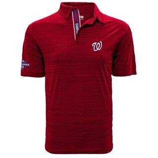 ワシントン・ナショナルズ Levelwear 2019 World Series Champions Sway ポロシャツ - Red