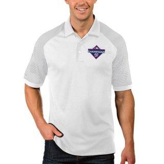 ワシントン・ナショナルズ Antigua 2019 World Series Champions Engage ポロシャツ - White/Gray