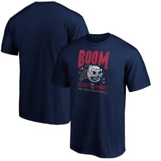 ミネソタ・ツインズ Fanatics Branded Team Pride Logo T-シャツ - Navy