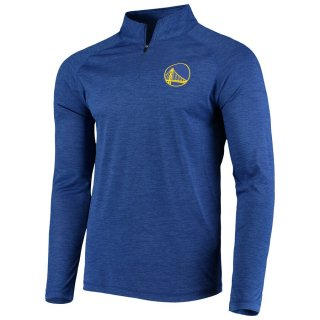 ゴールデンステート・ウォリアーズ Fanatics Branded Iconic Striated Raglan Quarter-Zip Pullover ジャケット - Royal