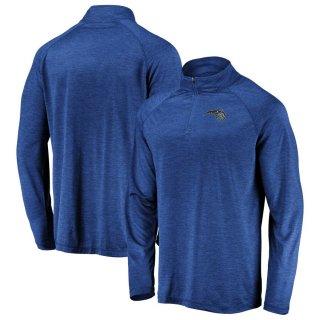 オーランド・マジック Fanatics Branded Iconic Striated Raglan Quarter-Zip Pullover ジャケット - Blue