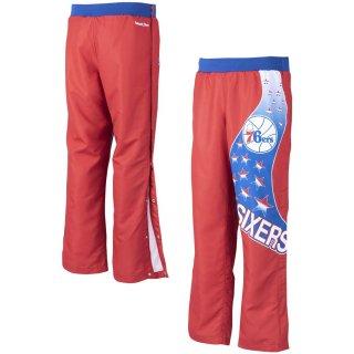 フィラデルフィア・76ers ミッチェルアンドネス 1993-94 Authentic Warm-Up Pants - Red
