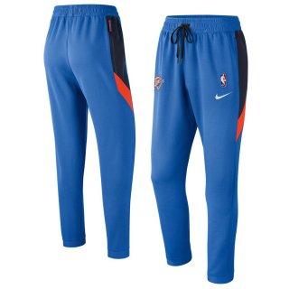 オクラホマシティ・サンダー Nike Authentic Showtime Therma Flex Performance Pants - Blue