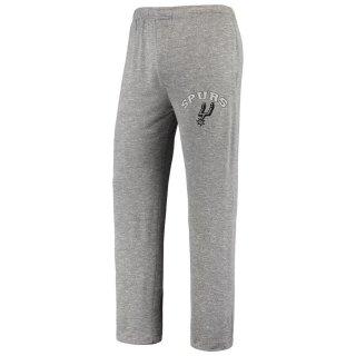 サンアントニオ・スパーズ Concepts Sport Tri-Blend Layover Knit Pants - Heathered Gray