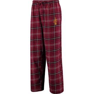 クリーブランド・キャバリアーズ Concepts Sport Ultimate Tall Sizes Flannel Pants - Wine/Black