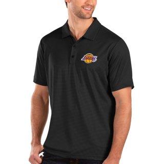ロサンゼルス・レイカーズ Antigua Balance ポロシャツ - Black