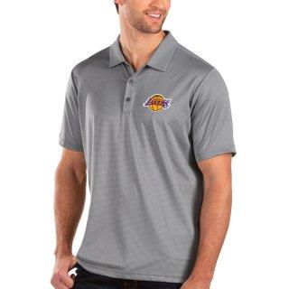 ロサンゼルス・レイカーズ Antigua Balance ポロシャツ - Charcoal