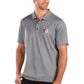 フィラデルフィア・76ers Antigua Balance ポロシャツ - Charcoal