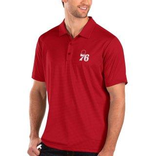 フィラデルフィア・76ers Antigua Balance ポロシャツ - Red