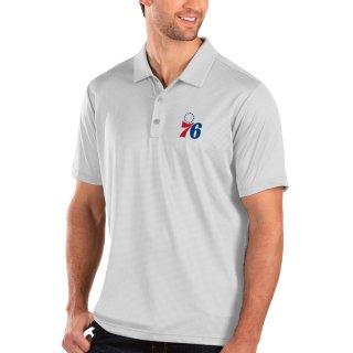 フィラデルフィア・76ers Antigua Balance ポロシャツ - White