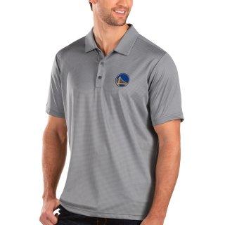 ゴールデンステート・ウォリアーズ Antigua Balance ポロシャツ - Charcoal