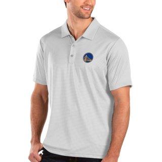 ゴールデンステート・ウォリアーズ Antigua Balance ポロシャツ - White