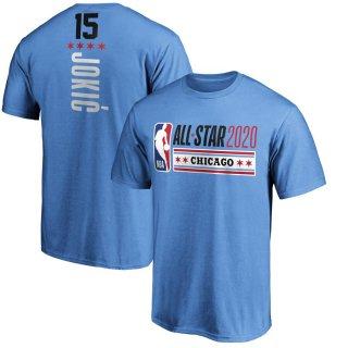 ニコラ・ヨキッチ Fanatics Branded 2020 NBA All-Star Game Name & Number T-シャツ - Blue