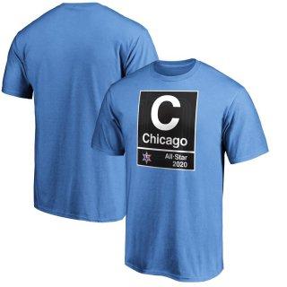 Fanatics Branded Blue 2020 NBA All-Star Game Subway T-シャツ
