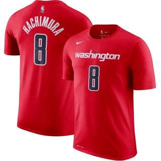八村 塁 ワシントン・ウィザーズ Nike Icon Name & Number Performance T-シャツ - Red