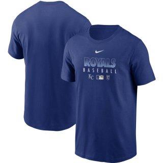 カンザスシティ・ロイヤルズ Nike Authentic Collection Team Performance T-シャツ - Royal
