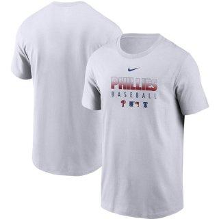 フィラデルフィア・フィリーズ Nike Authentic Collection Team Performance T-シャツ - White