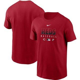 シンシナティ・レッズ Nike Authentic Collection Team Performance T-シャツ - Red