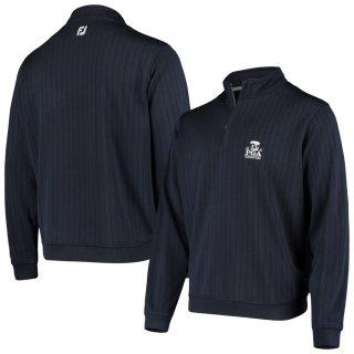 2020 PGAチャンピオンシップ FootJoy Drop Needle Half-Zip Pullover スウェットシャツ - Navy