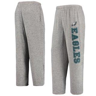 フィラデルフィア・イーグルス Concepts Sport Reprise Tri-Blend Knit Pants - Heathered Gray