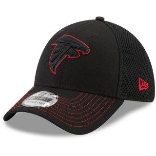 アトランタ・ファルコンズ New Era Team Neo Logo 39THIRTY Flex キャップ - Black