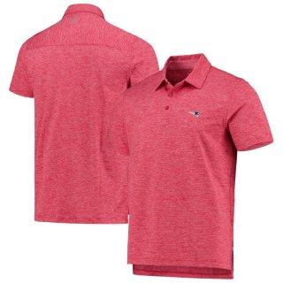 ニューイングランド・ペイトリオッツ Vineyard Vines Destin Stripe Sankaty ポロシャツ - Red