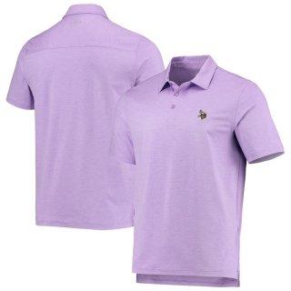 ミネソタ・バイキングス Vineyard Vines Destin Stripe Sankaty ポロシャツ - Purple