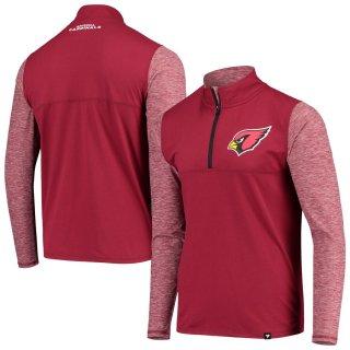 アリゾナ・カーディナルス NFL Pro Line by Fanatics Branded Made 2 Move Quarter-Zip ジャケット - Cardinal