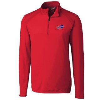 ニューヨーク・ジェッツ Cutter & Buck Williams Quarter-Zip Pullover ジャケット - Red