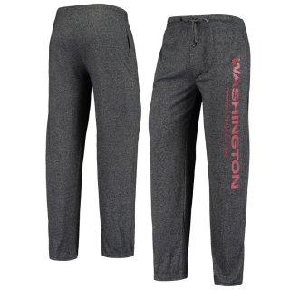 Washington Football Team Concepts Sport Quest Fleece Pants - Heathered Charcoal